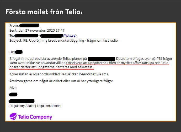 BAHNHOF AVSLÖJAR: Dataslarv hos Post- och telestyrelsen - läcker operatörers affärskritiska information av misstag