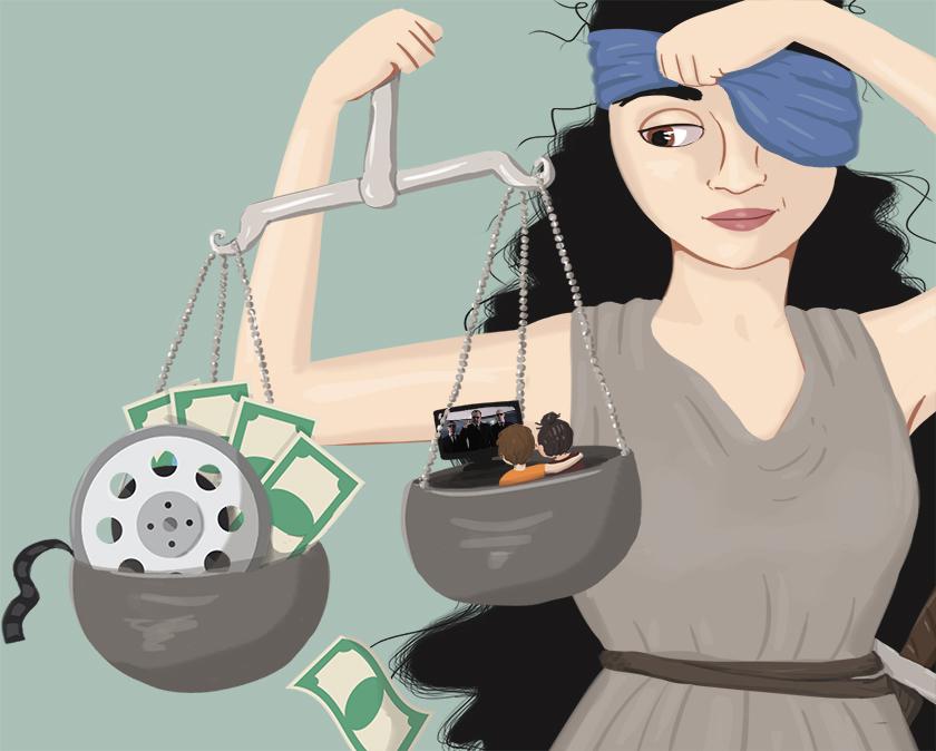 BAHNHOF AVSLÖJAR: Utpressningsbrev gör rika filmbolag ännu rikare