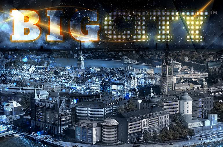 BIG CITY – staden som är en enda stor datahall