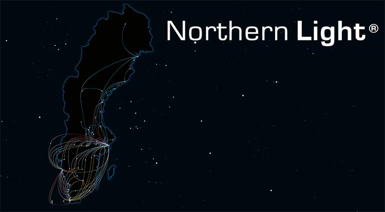 Northern Light – bredbandens Autobahn